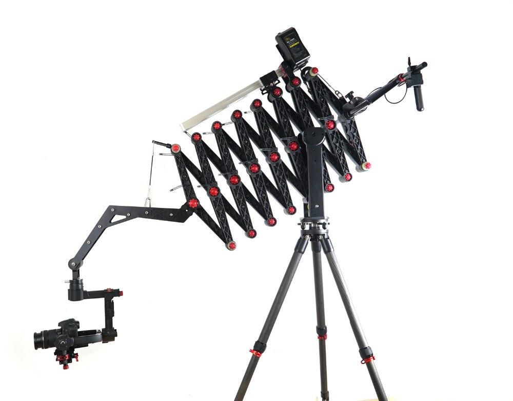 CAME-ACCORDION Camera Crane work with Camera gimbal temperaturas luces fresnel