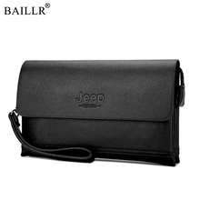 2019 New Male PULeather Long Purse Men's Cell Phone Clutch W