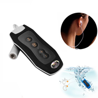 8GB Adroit Sports Clip Waterproof IPX8   Mp3     Player   FM Swimming Diving Earphone   MP3   MUSIC   player   headset underwater   mp3
