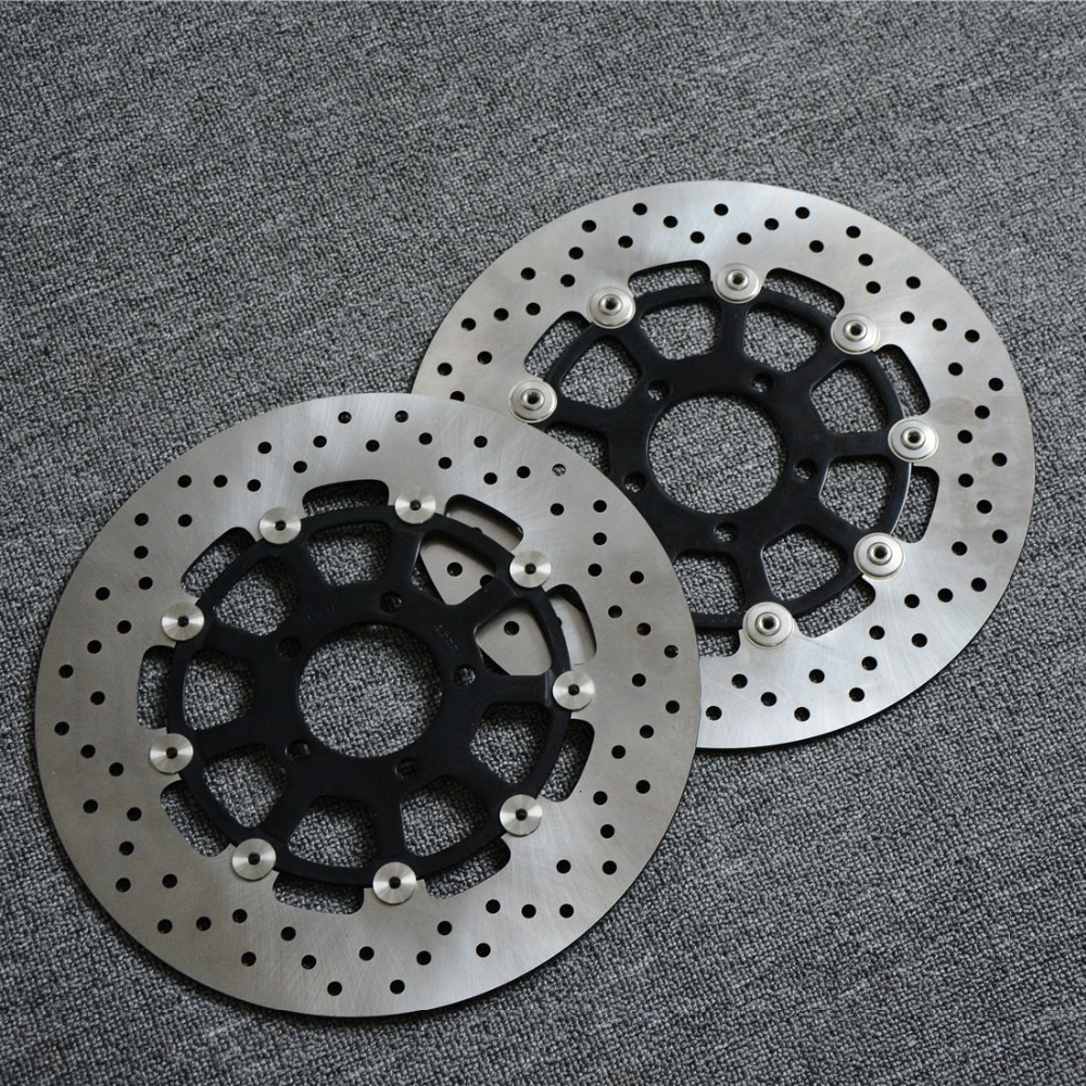 For SUZUKI GSXR1000 ( 2000 2001 2002 2003 ) GSXR1300 HAYABUSA 1300 ( 1999-2007 ) Motorcycle Parts Brake Rotor Brake Disc Rotors bulova часы bulova 97b151 коллекция classic