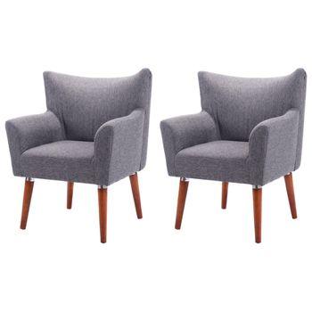 Giantex Set Of 2 Leisure Arm Chair