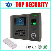 Fingerprint and MF card door access control biometric fingerprint time attendance TCP/IP usb color screen webserver time clock