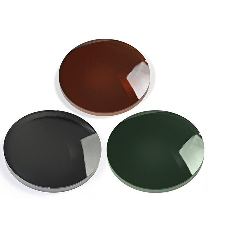 Single Vision Polarized Eyeglasses Lenses Anti-uv SPH Range -7.00~+7.00 Max CLY -4.00 Prescription Optical Lens 4 Colors