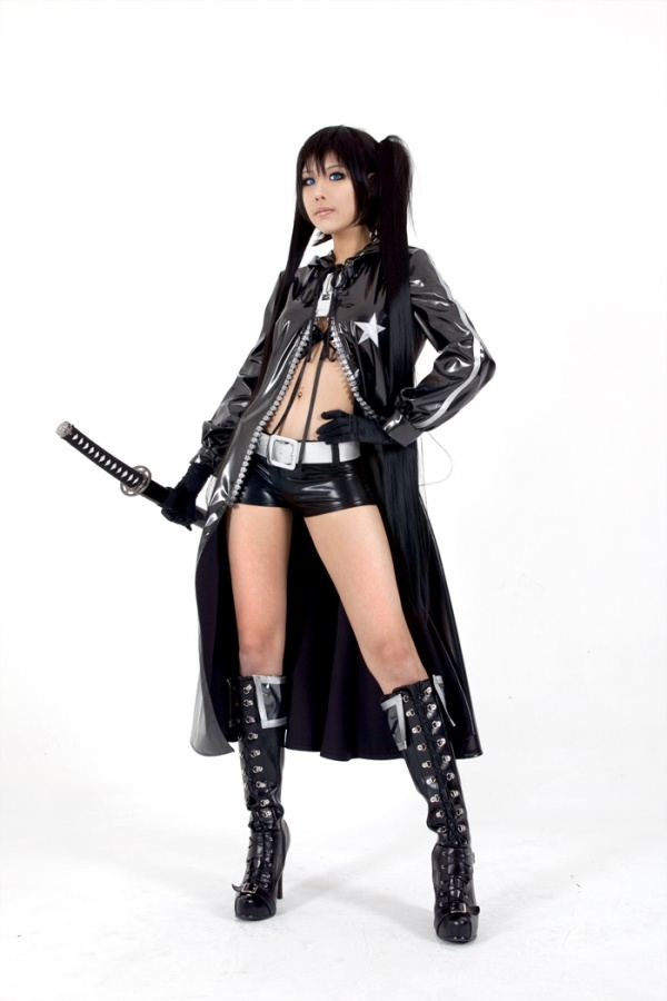 BRS Black Rock Shooter Cosplay Costume
