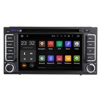Quad Core Android 7.1 Universal 2 Din Car DVD Player GPS For Toyota Hilux Vios Camry Crown Corolla Prado RAV4 Yaris 1996 2009
