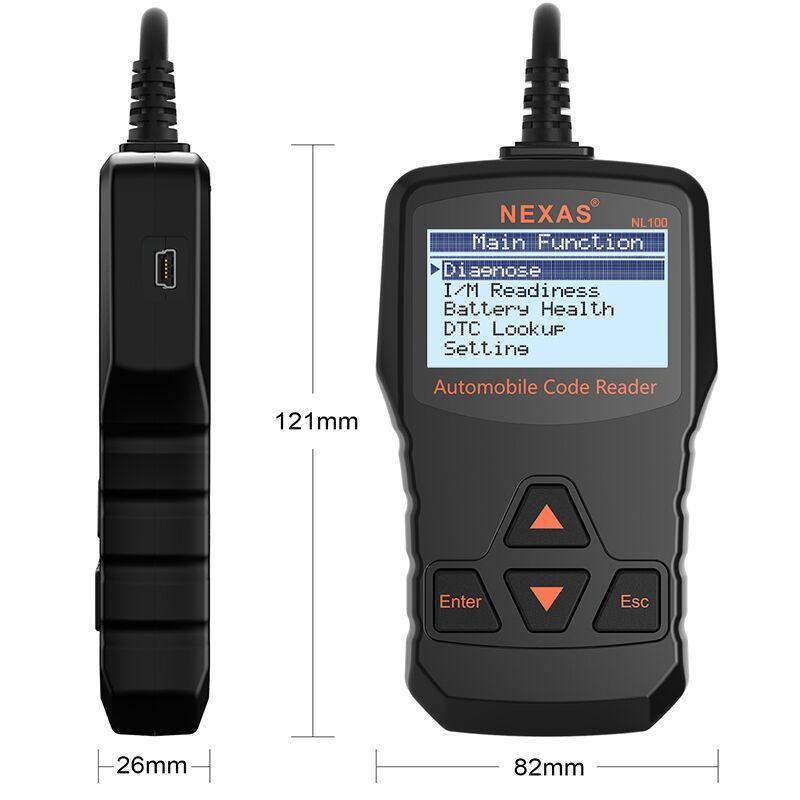 инструкция для автомобильного сканера nl 100