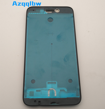 Azqqlbw для Huawei Honor 6a спереди корпус средняя пила рамы Запчасти для Авто белый/черный цвет (без золота). Золото Дисплей Usewhite