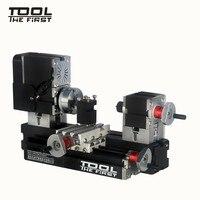 Thefirsttool tz20002mg мини из металла Токарные станки B машина с 12000r/мин 60 Вт Двигатель больше обработки RADIUS DIY Инструменты chrildren подарок