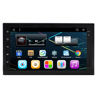 7 Quad Core Android 4 4 1024X600 Double Two Din Car Stereo Audio Head Unit Autoradio