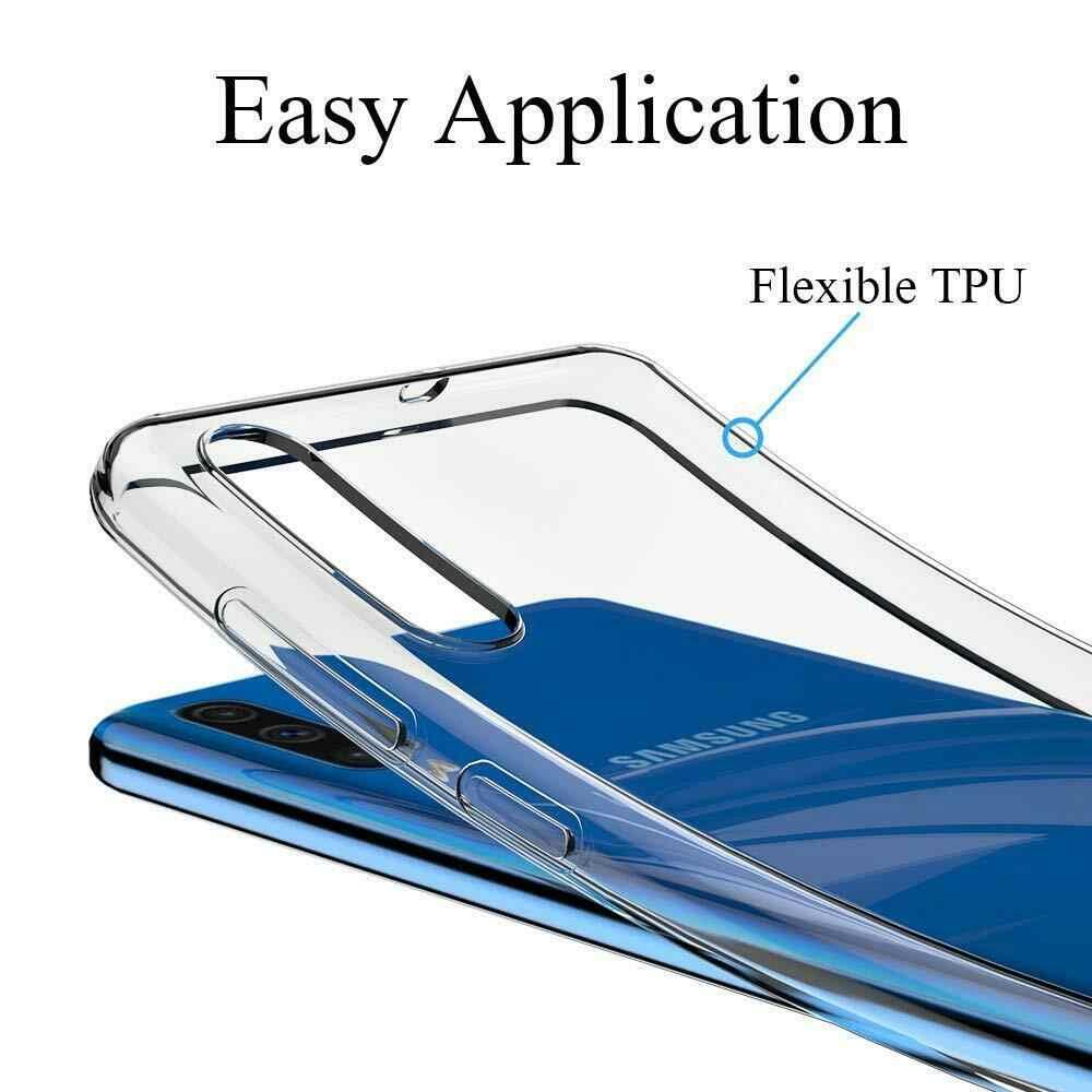 Soft Silicone TPU Case For Samsung Galaxy A50 Cases 6.4'' 2019 A50 A 50 A505 A505F Clear Cover For A30 A305F A305 A 30 SM-A305F