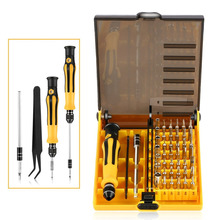 45 in 1 Screwdriver Set Precise Steel Screw Driver Repair Tool Kit Mobile Phone Notebook Computer Repairing Tools Quality