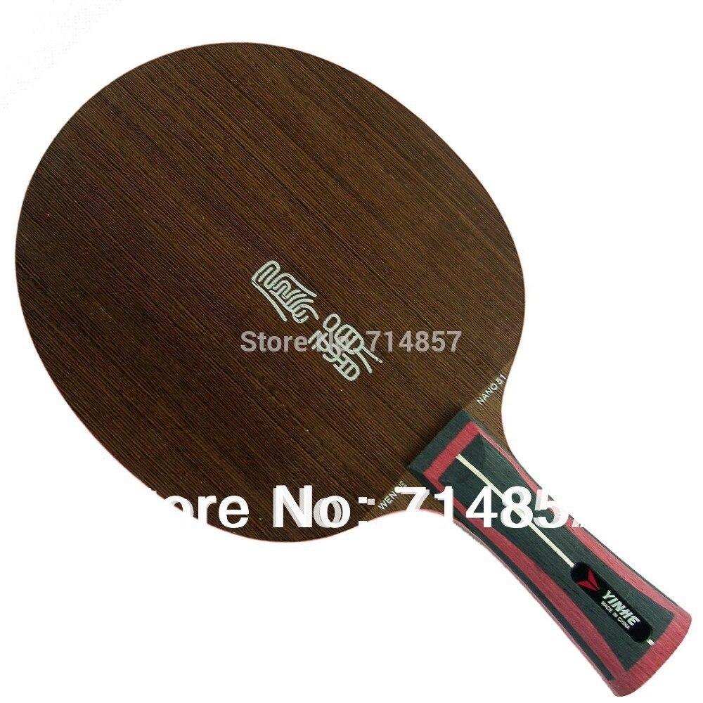 Original Yinhe / Milky Way / Galaxy NANO WENGE NW-51 (NW51, NW 51) table tennis / pingpong blade original yinhe milky way galaxy nr 50 rosewood nano 50 table tennis pingpong blade