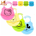 Monkids 2017 Newborn Cartoon Waterproof Aprons Baby Bibs New Design Baby Bibs Waterproof Silicone Feeding Baby Saliva Towel