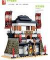 Kits de edificio modelo compatible con lego castillo Tres Reinos Ritorna vincitor 3D modelo de construcción bloques Educativos juguetes aficiones