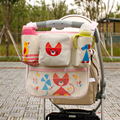 Mother Bag Baby Stroller Bags Hanger Organizer Baby Carriage Pram Accessories Cute Baby Stroller Bag Nappy Diaper 70Z2439