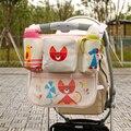 Saco mãe Carrinho De Bebê Sacos Organizador Cabide Acessórios Bonito Carrinho De Bebê Carrinho de Bebê Carrinho De Bebê Saco de Fraldas Fralda 70Z2439