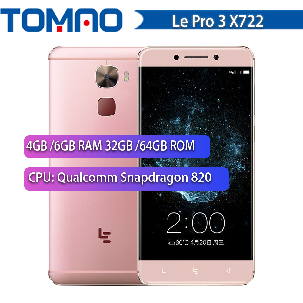 100 New 5 5 Letv Le Pro 3 X722 Snapdragon 820 Quad Core 4G 32G 4070mAh