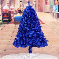 Christmas New Year essential 1.2 m / 120CM navy blue Christmas tree decorations Christmas gifts Holiday decorations supplies