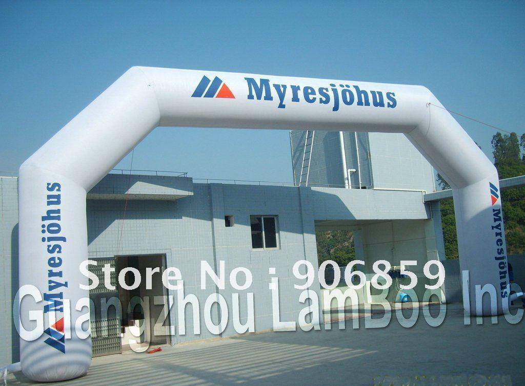 6 м Span надувные арки/Арка с вашим логотипом для продвижения