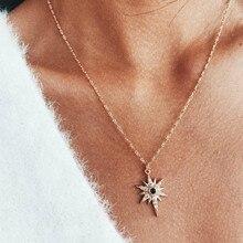0165974fc199 Nuevo collar de joyería de moda collares venta al por mayor de las mujeres  Joker contratado collar Starlight Collar corto