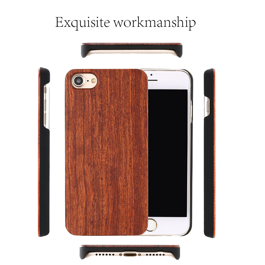 Real Wood Case For iphone 11Pro MAX X XR 8 7 6 Plus Cover Natural Bamboo Real Wood Case For iphone 11Pro MAX X XR 8 7 6 Plus Cover Natural Bamboo Wooden Hard Phone Cases For Samsung Galaxy S10 S9 Plus