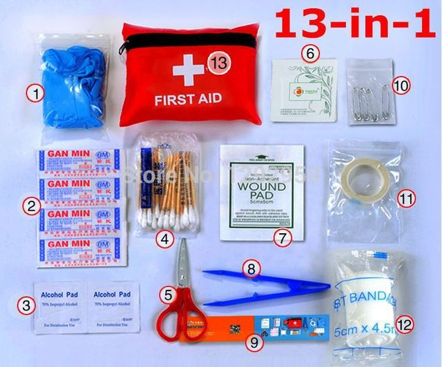 Outdoor Home Medical Kits Earthquake Disaster Prevention Package Chartered By First Aid Kit 13