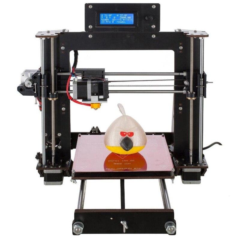 CTC 2019 nouvelle imprimante 3D bricolage Prusa i3 Reprap MK8 kit de bricolage MK2A lit chauffant LCD contrôleur v-slot reprendre impression de panne de courant
