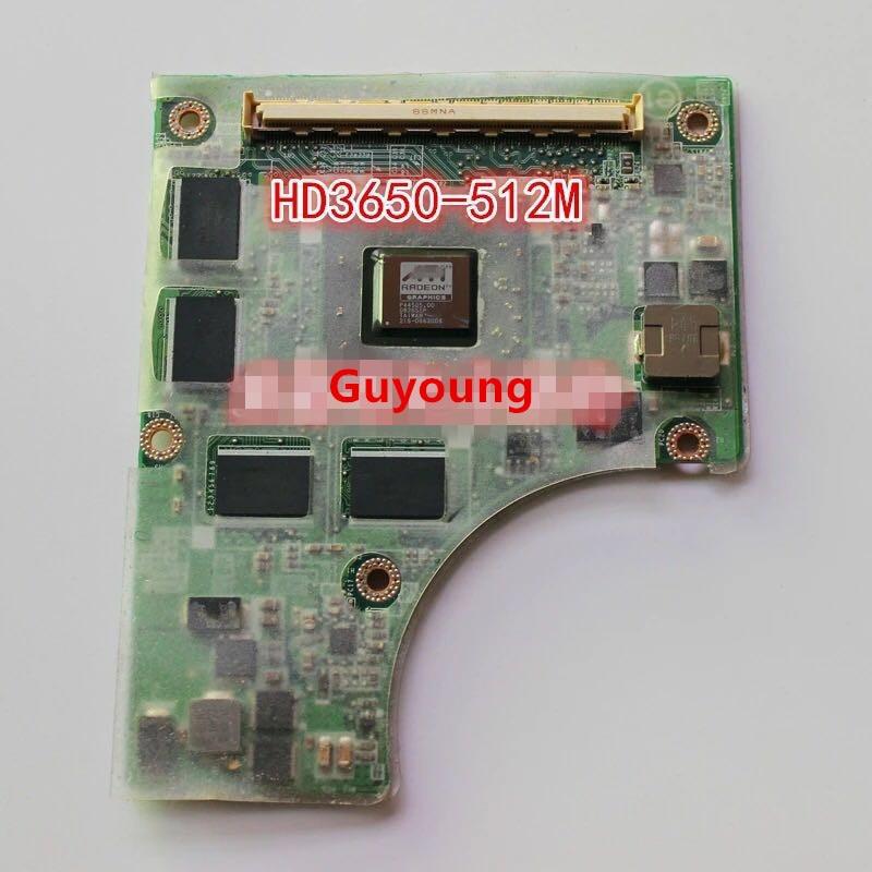 38BD3VB0060 38BD3VB0080 38BD3VB0090 DABD3UB18C0 REV:C HD3650 216-0683008 VGA Video Card For Toshiba Satellite P300 P305 A300