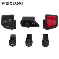 Motorcycle Switch Button Horn Turn Signal High Low Beam Electric Start Buttons Assembly For PIAGGIO