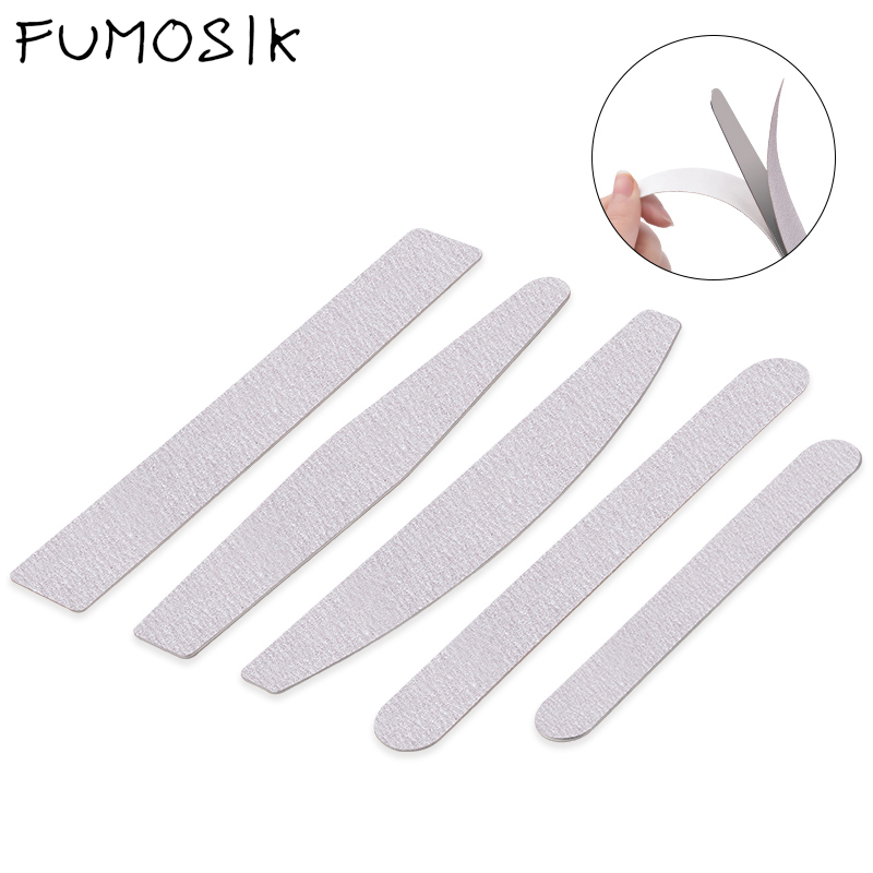 Nail Files Double Sided Buffers Nail Files Professional For Manicure Nail Art Tool 100/180