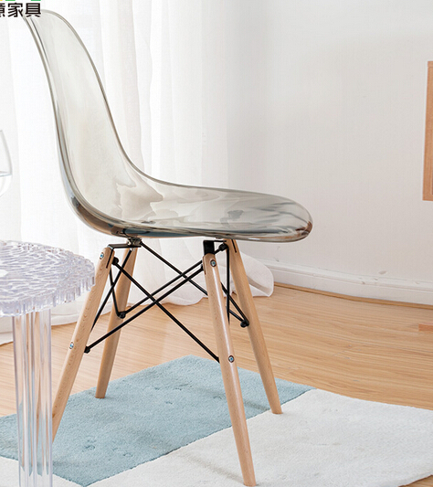 clear plastic furniture. MAV Furniture Modern Designer Iconic Plastic Chair, Clear/Transparent Seat, Free Shipping By China Post Air Parcel-in Dining Chairs From On Clear O