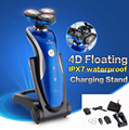 RQ1150 Shaving Machine 4D Waterproof Rechargeable Mens Electric Shaver three head for shaver razor