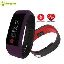 2017 New sensible wristband Coronary heart Charge Tracker Waterproof Smartband blood stress health bracelet assist Android four.four ISO 7.zero