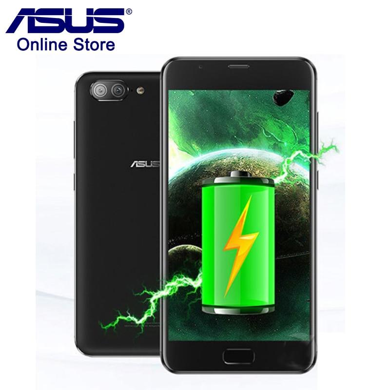 2017 ASUS Zenfone 4 Max Plus ZC550TL X015D 3GB 32GB 5000mAh Battery 5.5 Inch Mobile Phone Android 7.0 MT6750 OTG Fingerprint ID