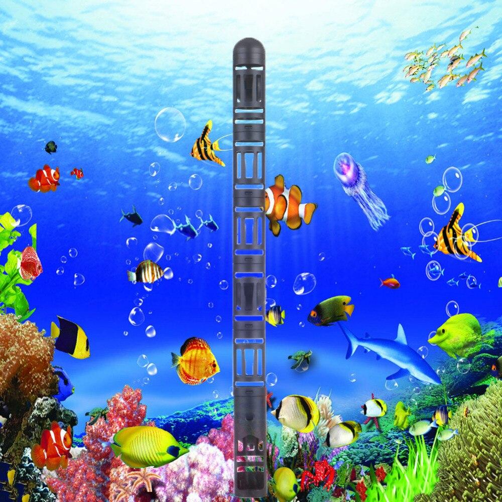 Aquarium fish tank cover - 1pcs Aquarium Heater Guard Protector Cover Case 18cm Fish Tank Heating Case With Suction Cups
