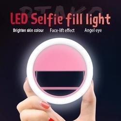 Светодиодный фонарик для мобильного телефона, Автоспуск, заполняющий свет, Тип зажима, портативный светодиодный фонарик для iPhone X 8 7 6 Plus samsung