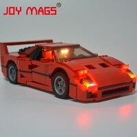 JOY MAGS Led Building Blocks Kit Light Up Kit For Creator Series F40 Car Lepin 21004