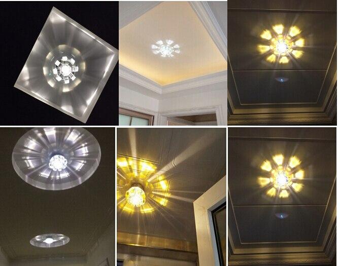 Led Kristall Deckenleuchten Licht Eingangshalle Korridor Ganglichter Deckenleuchte Wohnzimmer Beleuchtung Kristall Lampe Lo8107 GroßEr Ausverkauf Deckenleuchten