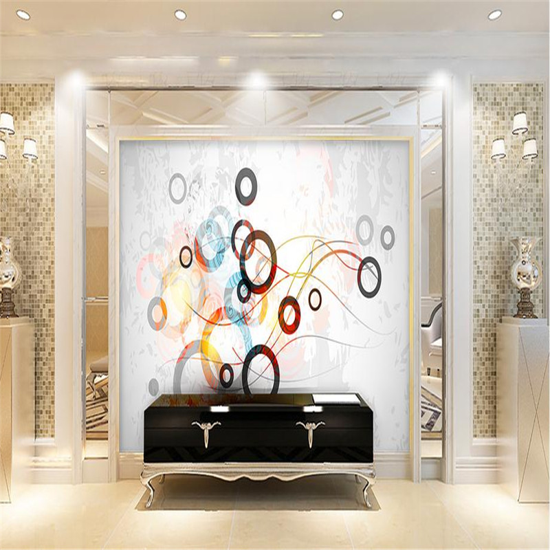 3d modern custom photo wallpaper large circle simplicity wall mural living room bedroom background wallpaper home decorating book knowledge power channel creative 3d large mural wallpaper 3d bedroom living room tv backdrop painting wallpaper