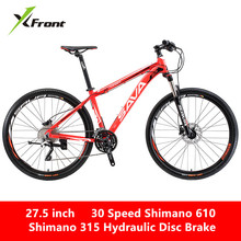 New Brand Mountain Bike Aluminum Alloy Frame M610 Shift M315 Hydraulic Brake 26/27.5 inch Wheel 30 Speed MTB Bicycle