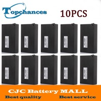 Wholesale 10PCS High Quality Super Rechargeable Portable Lithium Ion Battery With Case DC 12V 9800mAh DC