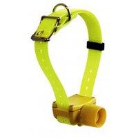 Желтый цвет охотничья собака ошейник с бипером водонепроницаемый для маленьких, средних, больших собак