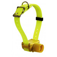 Yellow color hunting Dog Collar beeper waterproof for small, medium, large dogs
