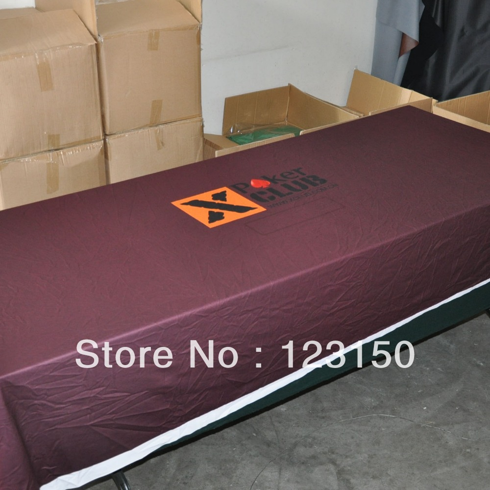 WP 019 Professional Water Resistant Poker Table Cloth, Custom Your Poker  Table Felt(