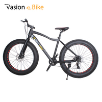 Passion Ebike 21 Speed White Color 26 4 0 Fat Tire Bicycle Bicicleta Mountain Bike