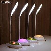 2017 Newest Fashion LED Desk Touch Switch Flexible LED Reading Lamp 3 Level Adjusted Brightness Kids