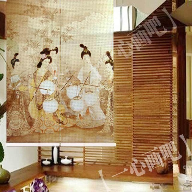 Curtains Ideas curtain paintings : Aliexpress.com : Buy hanging curtain dividers/room screens/+ ...