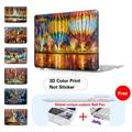 Печать Супер удивительный Шар Маслом Shell Крышка Ноутбука Air 11 Air 13 Pro 15 Чехол Для Macbook Pro Retina 12 13.3 15.4 Дюймов