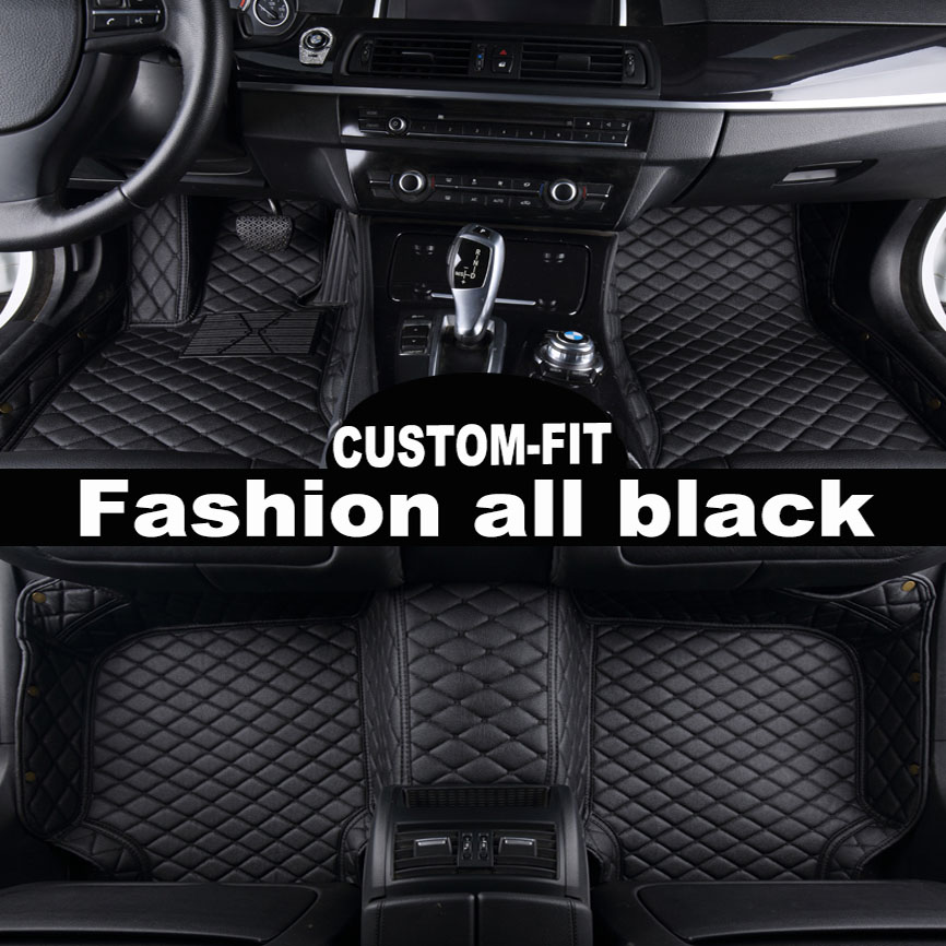 цена на Car floor mat fit Left or right hand drive fit Citroen C2 C4L C5 Elysee C-qurtre C4 Picasso DS4 DS5 DS5L DS6 5D car-styling