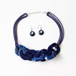 Новые акриловые ожерелья и серьги в виде ключицы, модные женские банкетные Ювелирные наборы для женщин